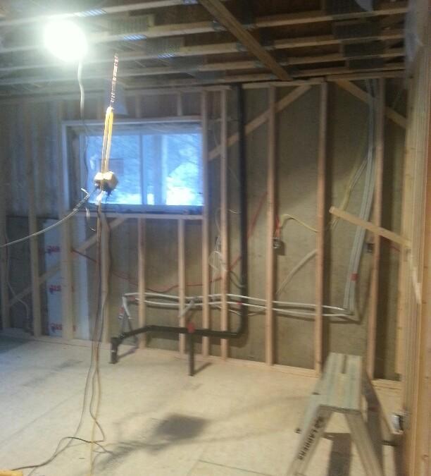Rénovation de sous-sol